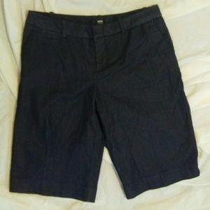 Mossimo 4 Dark Blue Bermuda Shorts
